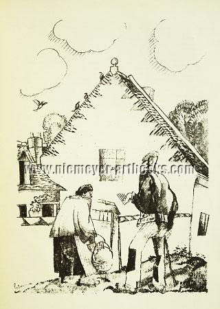 Laboureur, Elderly Couple before Villa