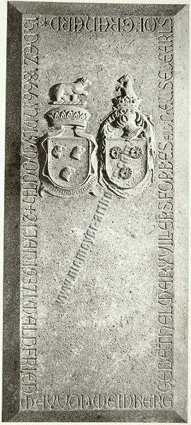 May von Weinberg / Tombstone