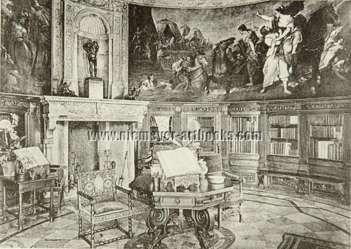 Villa Waldfried: Bibliothek