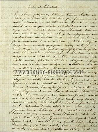 Brazil - Letter of Liberation