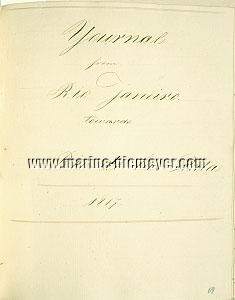Hendrik de Haan, Logbuch der Faseta Hamburg - Rio de Janeiro - Buenos Aires - Hamburg 1816-1818
