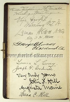 Visitors' Book Prinzessin Victoria Luise: l. 10 verso