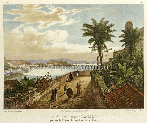 Johann Moritz Rugendas, Vue de Rio-Janeiro