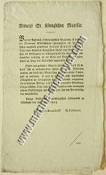 Ein Generalkonsulat für Elbangelegenheiten (1823)
