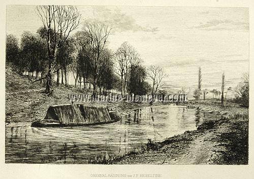 John Postle Heseltine, River Landscape