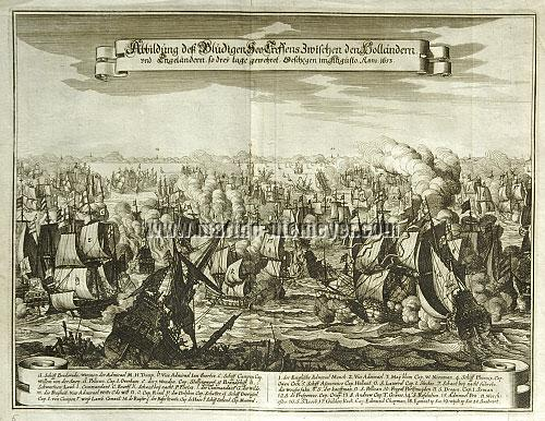 Naval Battle off Scheveningen 1653