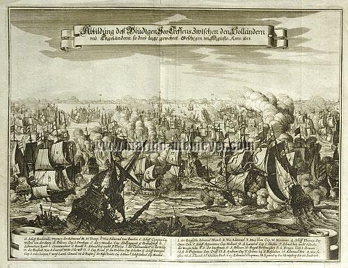 Naval Battle off Scheveningen 1653