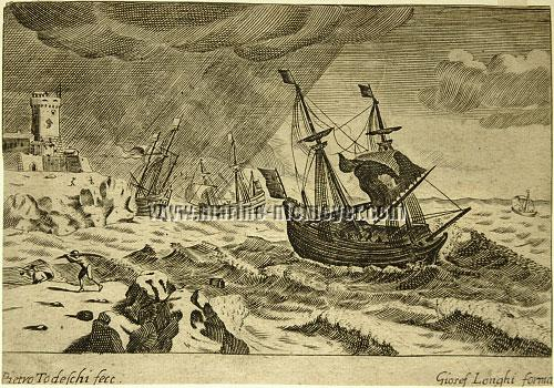 Pietro Todeschi, Schiffbruch im Sturm I