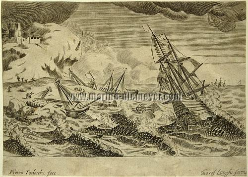 Pietro Todeschi, Schiffbruch im Sturm II